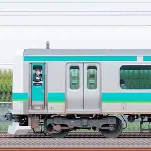 JR東日本 常磐快速線 E231系マト114編成(海側)