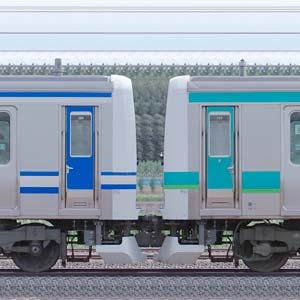JR東日本 常磐快速線 E231系マト111編成+マト139編成(成田線開業120周年記念列車)(山側)