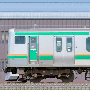 JR東日本 小山車両センター E231系U587編成+U2編成(海側)