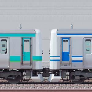 JR東日本 常磐快速線 E231系マト111編成+マト139編成(成田線開業120周年記念列車)(海側)