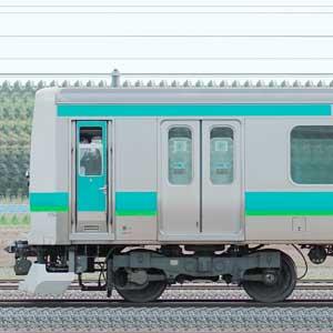 JR東日本 常磐快速線 E231系マト114編成(山側)