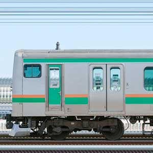 JR東日本 小山車両センター E231系U2編成+U587編成(山側)