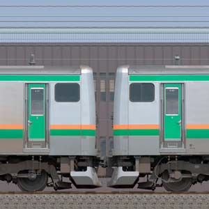 JR東日本 国府津車両センター E231系K-21編成+S-20編成(海側)