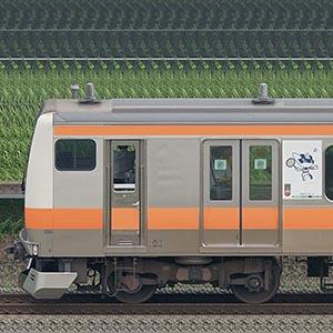 JR東日本 中央快速線 E233系T10編成(東京 2020 マスコット特別車体ラッピングトレイン・海側)