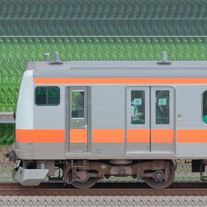 JR東日本 中央快速線 E233系T13編成(線路設備モニタリング装置対応編成・海側)