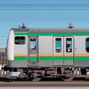 JR東日本 小山車両センター E233系U630編成(海側)