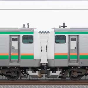 JR東日本 国府津車両センター E233系E-67編成+E-01編成(山側)