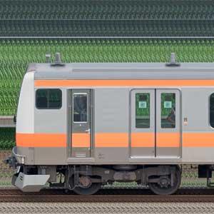 JR東日本 中央快速線 E233系T37編成(トイレ設置後・海側)