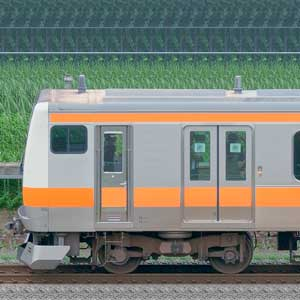 JR東日本 中央快速線 E233系H47編成(トイレ設置前・海側)