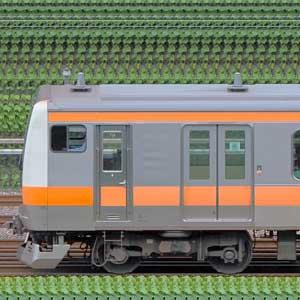 JR東日本 中央快速線 E233系T13編成(線路設備モニタリング装置対応編成・山側)