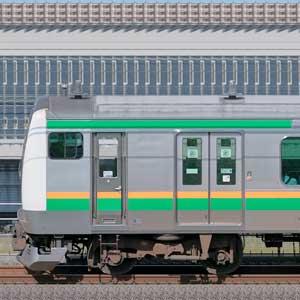 JR東日本 小山車両センター E233系U630編成(山側)