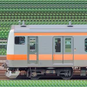 JR東日本 中央快速線 E233系T36編成(線路設備モニタリング装置搭載編成・山側)