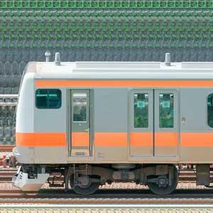 JR東日本 中央快速線 E233系H47編成(トイレ設置前・山側)