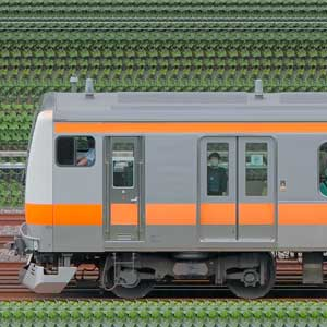 JR東日本 中央快速線 E233系H47編成(トイレ設置後・山側)