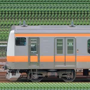 JR東日本 中央快速線 E233系T71編成(山側)