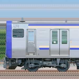 JR東日本 横須賀線・総武快速線 E235系1000番台F-01編成配給輸送(山側)