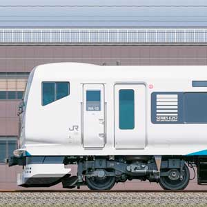 JR東日本E257系2000番台NA-13編成(海側)