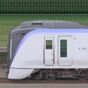 JR東日本 中央東線 E353系S112編成(海側)