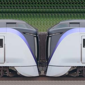 JR東日本 中央東線 E353系S205編成+S106編成(海側)