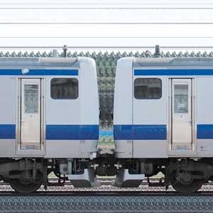 JR東日本 常磐線 E531系K453編成+K401編成(山側)