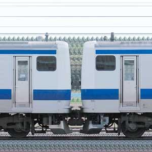 JR東日本 常磐線 E531系K471編成+K405編成(山側)