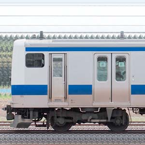 JR東日本 常磐線 E531系K411編成(線路設備モニタリング装置搭載編成・山側)
