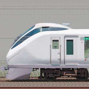 JR東日本 E657系K14編成『東北デスティネーションキャンペーン』ラッピング(海側)