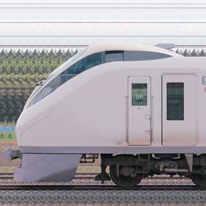 JR東日本 E657系K14編成『東北デスティネーションキャンペーン』ラッピング(山側)