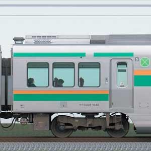 JR東日本E231系サロE231-1042