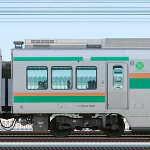 JR東日本E231系サロE231-1087