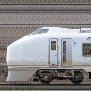 JR東日本651系「IZU CRAILE(伊豆クレイル)」(海側)