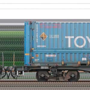 JR貨物コキ100系コキ105-33