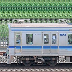 北総7300形7308編成(海側)