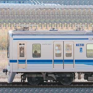 北総7800形7828編成(集電装置・補助電源装置交換後/山側)