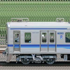 北総鉄道7800形7828(2019年)