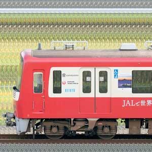 京急電鉄 新1000形(5次車)1065編成「行こう!秋の三浦半島」ラッピング(山側)