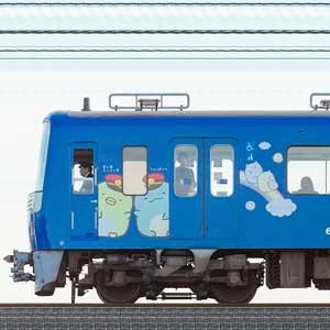 京急電鉄 600形(3次車)606編成「京急ブルースカイトレイン 空と海すいすい号」(山側)