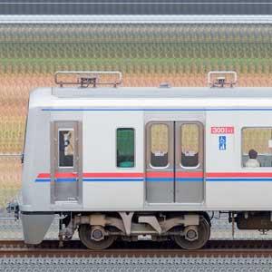 京成3000形(1次車)3001編成(山側)
