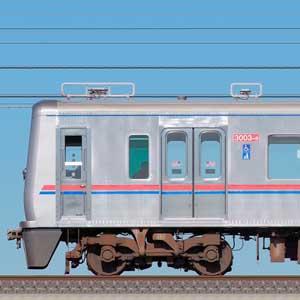 京成3000形(1次車)3003編成(SiC適用VVVFインバータ試験編成・海側)