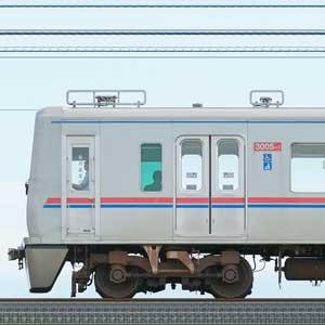 京成3000形(1次車)3005編成(山側)