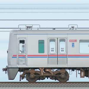 京成3000形(1次車)3005編成(海側)