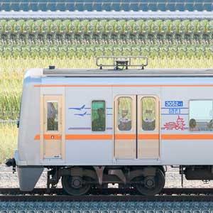 京成3000形(7次車/3050形)3052編成(デザイン変更後・山側)