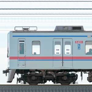京成3400形3408編成(山側)