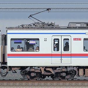 京成3400形3407