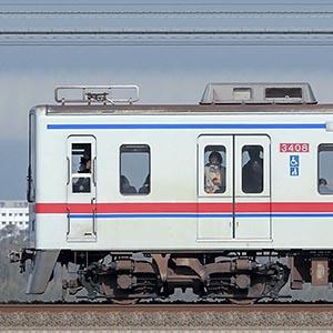 京成3400形3408編成(海側)
