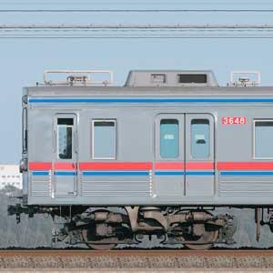 京成3600形3648編成(海側)