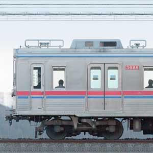 京成3600形3668編成(6連・海側)
