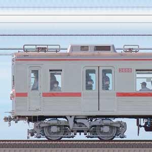 京成3600形3688編成(ファイヤーオレンジリバイバルカラー・海側)