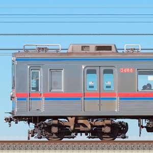 京成3600形3688編成(海側)