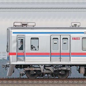 京成3700形(1次車)3708編成(海側)